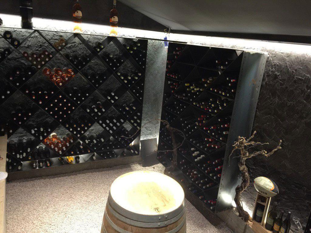 Creation et agencement d\'une cave à vin - Stc-az