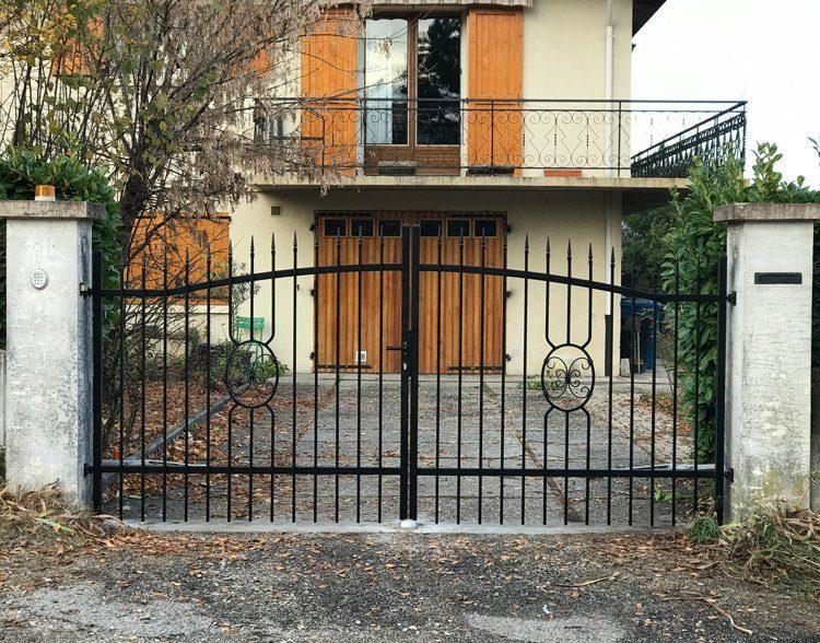 Installation d'un nouveau portail